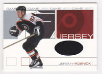 01-02 BAP Signature Jeremy Roenick /60 Jersey Game Used Flyers Be A Player 2001