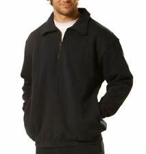 Men's Half Zip Sweater   Black   Navy Blue   Size S-5XL   Plus Size Jackets