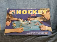 Vintage 1970 Sure Shot Hockey Game by Ideal Toy Corp 2-4 Players