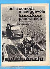 QUATTROR963-PUBBLICITA'/ADVERTISING-1963- AUTOBIANCHI BIANCHINA PANORAMICA (B)