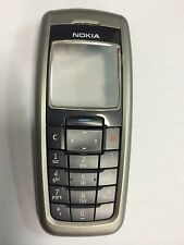 Nokia 2610 Front Housing, Screen & Keypad in Grey - Original. Brand New in pack.