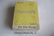 2001 HYUNDAI SANTA FE Shop Service Manual Volume 1