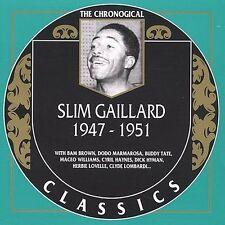 SLIM GAILLARD 1947-51 CLASSICS CD NEW SEALED LONG OUT OF PRINT