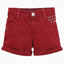 WI 13/14 - Catimini Urban GLOBAL MIX Shorts; ROJO VINO TALLA 7-10a