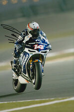Randy De Puniet MotoGP Hand Signed Power Electronics Aspar ART Photo 12x8 2013 5