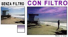 COKIN FILTRO GRADUATO VIOLA P126 P127 OBIETTIVO CANON NIKON SONY FUJI 18-55MM