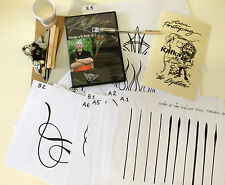 Kafka Lines & Designs Pinstriping System with DVD & Signature Scroller Brush #5