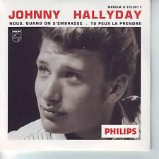 CD 2 titres JOHNNY HALLYDAY n°54 NOUS QUAND ON S'EMBRASSE  ** TU PEUX LA PRENDRE