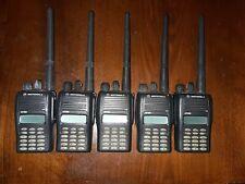 MOTOROLA GP388 Two-Way VHF Radios LOT of  5
