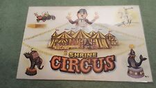 Shrine Circus Place Mat 1975 Animals Clowns