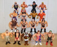 WWE/WWF Hasbro wrestling figures inc. Hulk Hogan, Razor Ramon & Rick Steiner