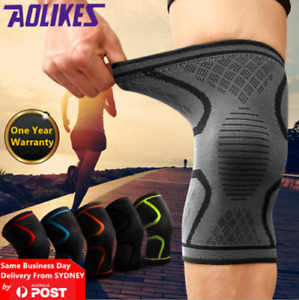 AOLIKES®3D Weaving Knee Support Brace Sleeve Sports Joint Kneelet Leg Breathable