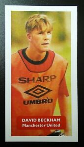 ENGLAND MANCHESTER UNITED - DAVID BECKHAM #1 of 5 Score UK football trade card