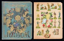 1890's Sporting Scrap Album with R.T.S. Artistic Series Complete Set of 10 +More