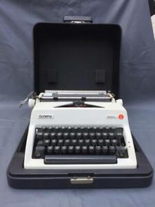 Vintage Typewriter OLYMPIA Monica