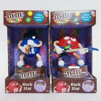 M&Ms Rock Star Blue Saxophone & Red Guitar m m Candy