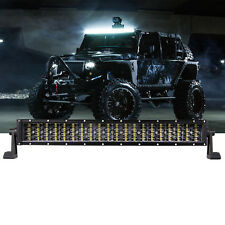 """42"""" 480W 160 LED Light Bar Spot Flood For SUV JEEP Offroad Working Driving Lamp"""