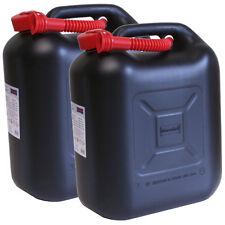 2er Set: 2x Benzinkanister 20 Liter UN Kraftstoffkanister 20L Made in Germany!