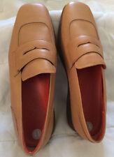 RARE Women's Hogan British Tan Mocassins, Size 11 ~ Made in Italy -VGC
