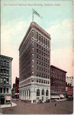 HARTFORD, Connecticut  CT   Hartford NATIONAL BANK BUILDING  c1910s   Postcard