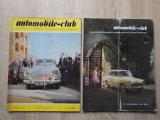 5 x Revues AUTOMOBILE CLUB Année Complète 1959 Nr 36 37 38 39 40 dont Salon Auto