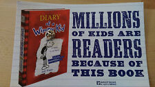 2014 DIARY OF A WIMPY KID THE LONG HAUL Book 9 button/pin back