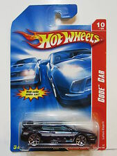 HOT WHEELS 2007 CODE CAR LOTUS ESPRIT BLACK W+