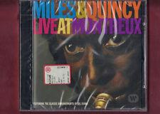 MILES DAVIS & QUINCY JONES - LIVE IN MONTREUX CD NUOVO SIGILLATO