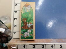 Precious moments stained glass window psalm 23:5  RUBBER STAMPS 5s