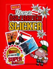 Billa Unser Österreich, Sticker,   15 Stück aussuchen