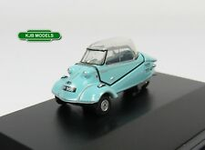 BNIB OO GAUGE OXFORD 1:76 76MBC004 MESSERSCHMITT KR200 BUBBLE TOP BLUE CAR