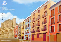 Spain 2018 MNH Cuenca Houses of Colour Heritage 1v M/S Architecture Stamps