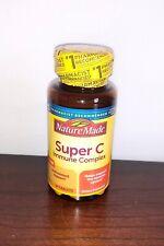 Nature Made Super C IMMUNE Complex 60 Tab, Vitamin C With ZINC!