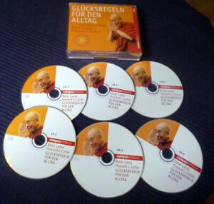 6xCD Hörbuch Dalai Lama - Glücksregeln Für Den Alltag Howard Cutler Mediatation