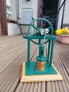 A well made model vertical steam engine