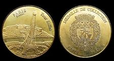 Tour Eiffel Paris  Médaille de Collection