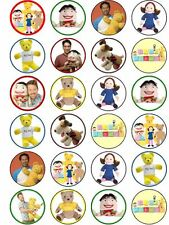 Playschool Edible ICING Cupcake Party Decoration Toppers