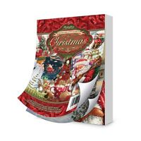 Hunkydory THE SECOND LITTLE BOOK OF CHRISTMAS 144 A6 Sheets Designs Decoupage