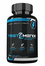All Natural Testosterone Booster- Increase Libido-Energy-Muscle Mass-60 Caplets
