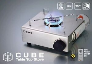 KOVEA CUBE Mini One Touch Stainless Table Top Stove Gas Burner KGR-1503E - FEDEX