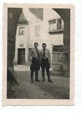 Original Foto, Pimpfe Jungvolk Wehrmacht Uniform Reiterstiefel Hemd, Schlips