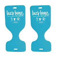 "TRC Recreation 36"" Lazy Bunz Comfortable Saddle Foam Floater, Teal (2 Pack)"