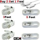 For Samsung Galaxy S7 S6 Edge Note5 Note 4 OEM Fast Charger Micro USB Cable Cord