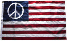 3x5 Ft Embroidered American Flag Nylon Usa Peace Us World Sign Banner