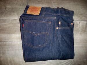 Levis 505 0217 Vintage 1966 Red Tag Men's Size 29 X 34 Dead Stock Denim Jeans