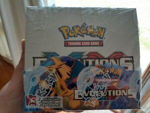 Pokemon TCG XY EVOLUTIONS Booster Box, New & Sealed!