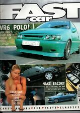 FAST CAR MAGAZINE-VR6 POLO COVER NOVEMBER 1999