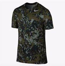 NIKE Pro Cool Splinter Fitted Men's Shirt (Size L) (688602-037) CAMO