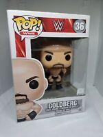 BILL GOLDBERG WWE FUNKO POP #36 WCW WWF FUNKO SPORTS WRESTLING WRESTLEMANIA AEW