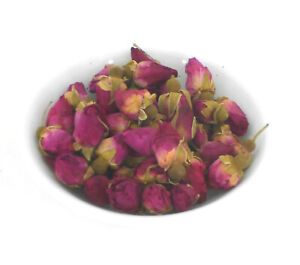 QUALITY DRIED RED ROSE BUDS Rosa rugosa HERBAL TEA INFUSION 30g 100g & 250g